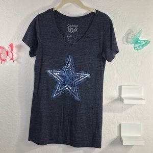 Cowboys her style size Med teeshirt